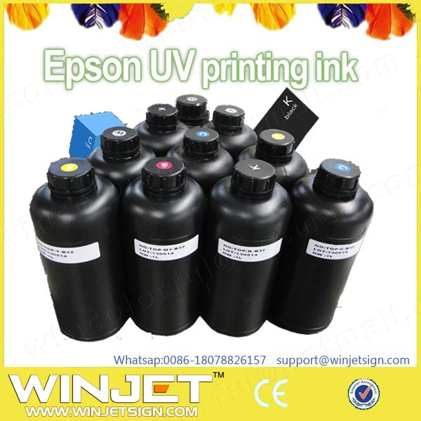 Digital inkjet UV label printer uv invisible ink hot sale