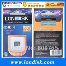 Hot Sales! LONDISK Extreme mini memory Card 32 GB Class 10