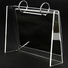 Wholesale Popular Contemporary Luxury Clear Custom Plastic Desk Acrylic Calendar Holder Stand