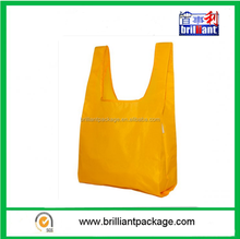 Durable & High-quality Yellow Reusable Shopping Bag