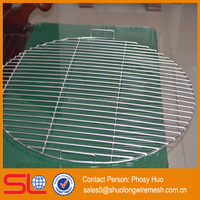 Round stainless steel barbecue wire mesh, bbq roaster round