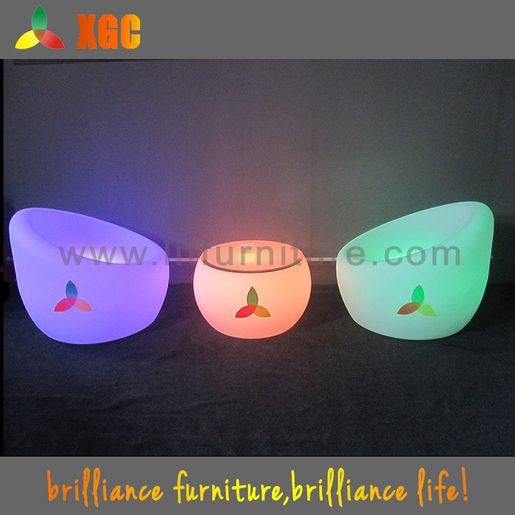 led lounge furniture/led home bar design/led lifestyle living furniture