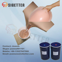 Medical Grade Fake Human Skin Liquid Rubber for Breast Prosthesis
