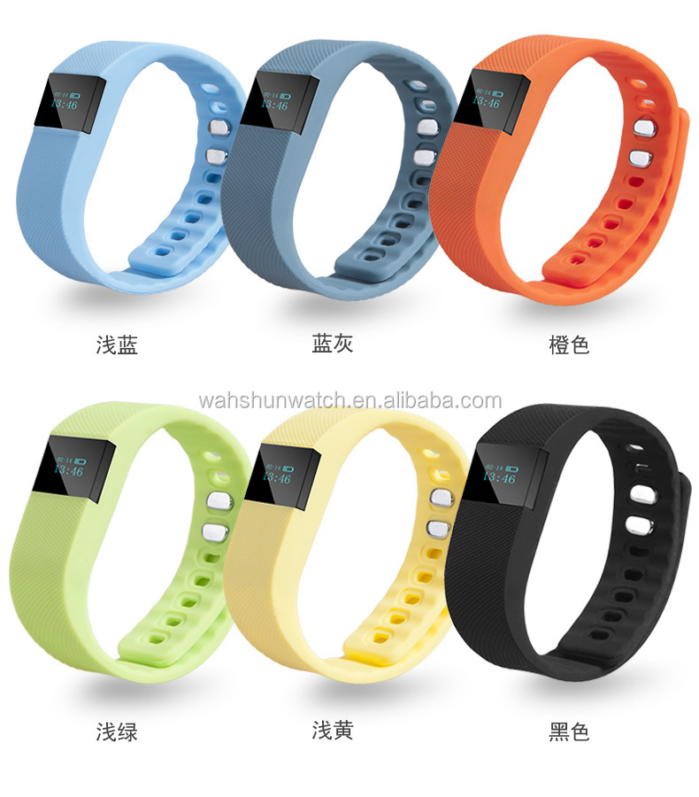 Fashion cheap high quality digital silicon material bracelet smart watch