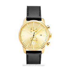 2016 spring watches /sapphire crystal watches prices/genuine leather watch bonill