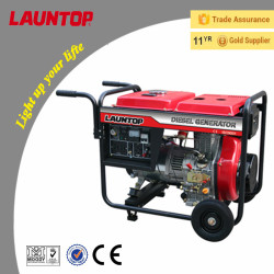 3.0kw Chinese Diesel Generator with Air-cooled 4-stroke engine by Launtop