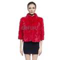 QD70826 China Supplier Women Winter Short Whole-hide Mink Clothes Made In China