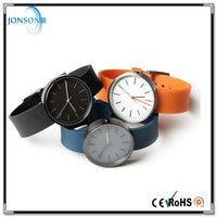 Top quality mens luxury q&q japan brand watch custom silicone strap watch