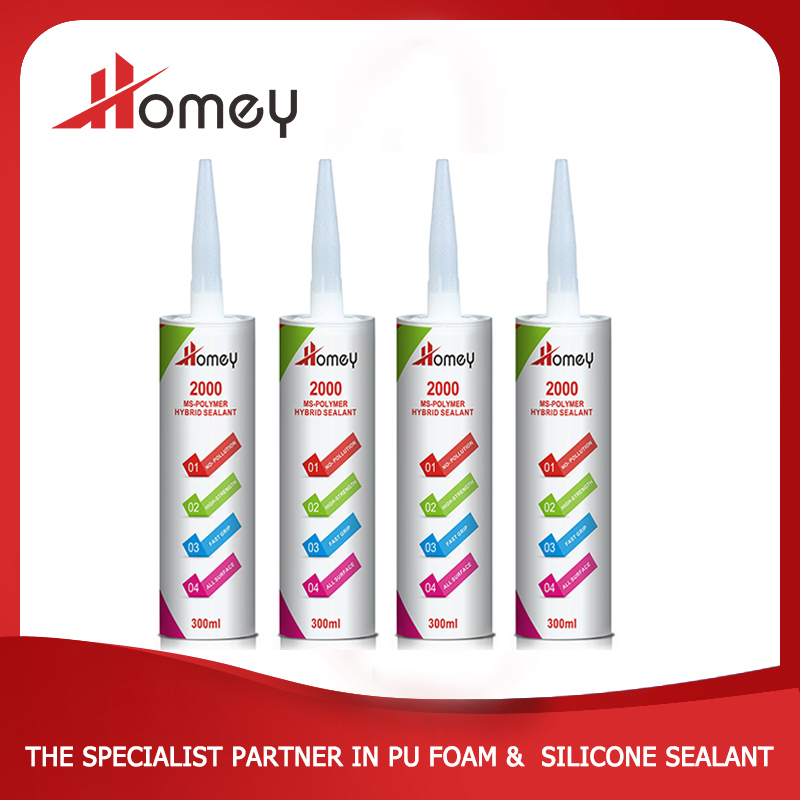 Homey 2000 ms polymer waterproofing sealant