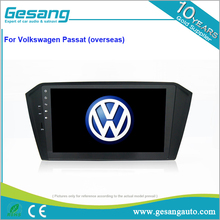 Full touch screen 10 inch car dvd gps navigation with dvd player for VW Volkswagen Passat with digital TV optional