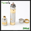 Focusecig new arrival double airflow control Stainless steel rebuildable atomizer 2wind ecigator ecigs