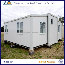 Flat pack mordern prefabricated house container living homes