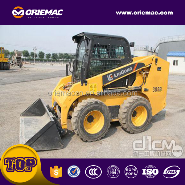 China Brand Liugong CLG375B Skid Steer Loader New