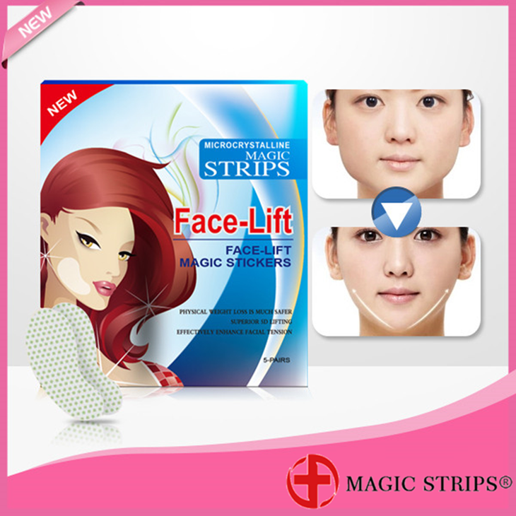 Free Sample Magic Strips Slimming Face Patch / Mask
