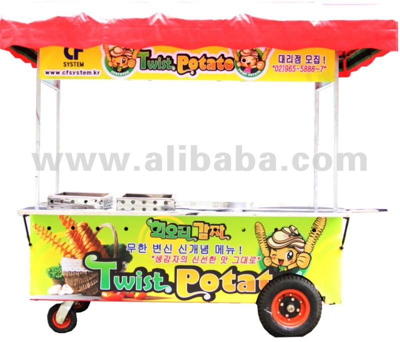 Food cart Tent specialized in Twist potato only