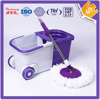 Best selling household cleaning spin mop with wheel