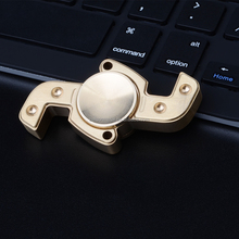 2017 OEM Metal Finger Spinner Fidget suface smooth Focus Toy EDC Reduce Stress