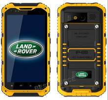 4.3 inches LANDROVER A9 IP68 Warterproof rugged Phone RAM 2G ROM 16G Quad Core NFC MTK6589 3G rugged cellphone