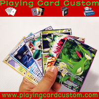 China foil packaging wholesale pokemon trading cards