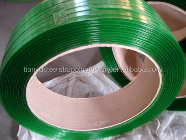 high quality green color pet strapping with best price