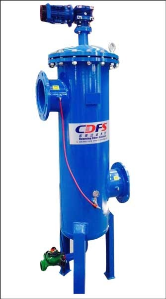 Professional manufacturing industrial self clean water filter with high performance
