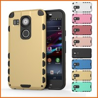 Hybrid slim robot back case for Google Nexus 5X cover