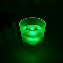 Water Active LED Glow Glass ,LED light up LED Flashing Shot Glass,led flashing beer cup