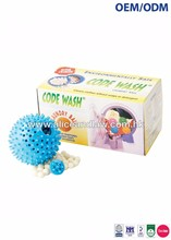 OEM/ODM Economical Wash, Soap & Detergent substitute, Reusable Laundry Ball (Refillable)