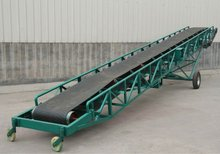 belt conveyor with high inclination angle