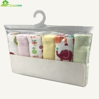 China factory 100% cotton organic muslin wraps burp cloth washcloth baby hand face towel
