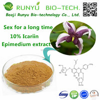 Best quality of Men's Sex Health Powder 10% epimedium extract Icariin