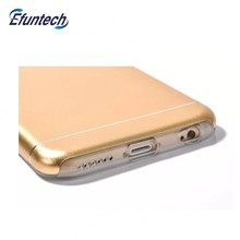 Wholesalse price imitation of TPU metal aluminum covers for iphone 6P 6SP
