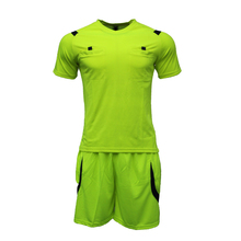 New style soccer referee shirt ,team referee uniform kits,plain referee suit