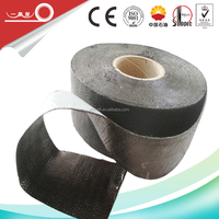 self adhesive bitumen waterproof tape for anti corrosion of underground flange valve fitting