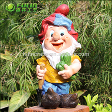 Chinese style seven dwarfs statues garden gnome statue