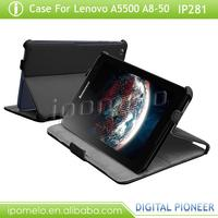 tablet protective case for lenovo A5500 A8-50 8 inch leather case