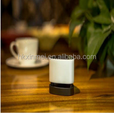 Bluetooth Speaker Mini Pintar DIPIMPIN Cahaya Panel Sentuh