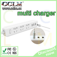 international standard universal multi charger in EU US CN socket with USB port for multi function charger