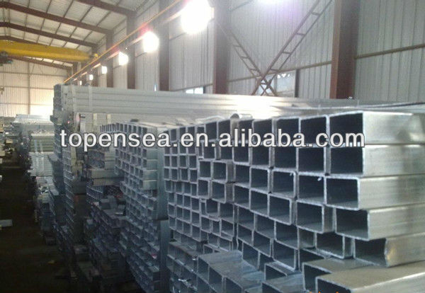 China steel beams hollow beam rectangular