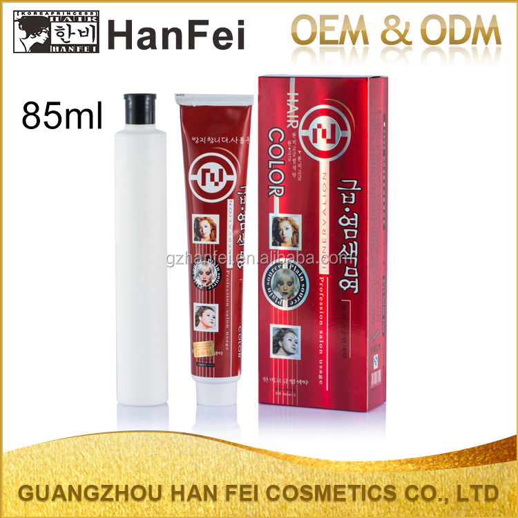 China permanent herbal hair colour protein ammonia free cream hair color