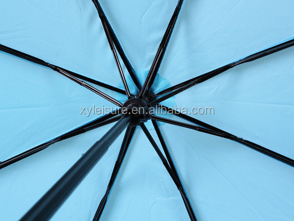 private label high quality 3 fold umbrella