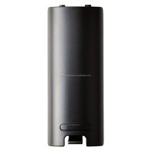 Black Battery Cover Door for Nintendo Wii Remote / Wii Remote Plus
