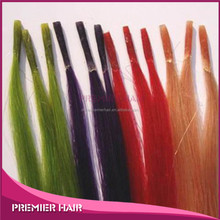 Hot New Products for 2014 High Quality I/Stick Tip Hair Extension Wholesale