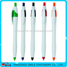 AD cheap ball pen plastic push ball pen with logo