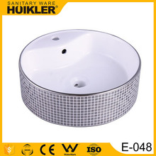 Customized professional portable hair wash basin solid surface wash basin interior design