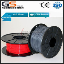 1.75mm PLA and ABS filament for 3D printer