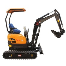 Heavy construction equipment mini crawler excavator XN16 for sale