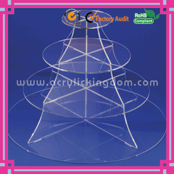 4 tiers acrylic cake stands for wedding