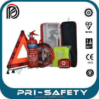 Middle East car kit Fire Extinguisher with booster cable