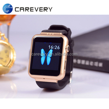 Factory supply competitive price android 4.4 dual core smart watch build in 3G wifi with IPS screen